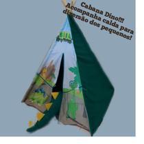 Cabana Barraca Dinossauro Infantil 120x160 Ciabrink P6000 -