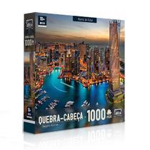 Cabeça 1000 peças -  Marina de Dubai - Toyster -