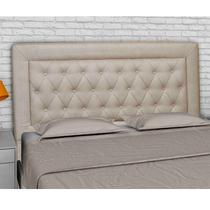 Cabeceira Cama Box Casal King Size 193 cm Napole - Sheep Estofados -