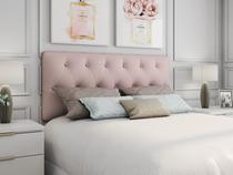 Cabeceira camas box casal artesanal modulada Rosé - Comfort Lar