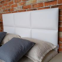 Cabeceira Casal Módulos Cama Box Branco 140 x 60 - Rbl -