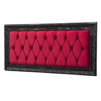 Cabeceira Painel Casal Estofada Liverpool 140 cm Vermelho - Simbal