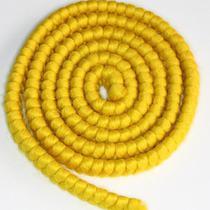 Cabelo crepe de lã para bigodes falsos e Pêlos faciais amarelo - Lynx Produções Artistica