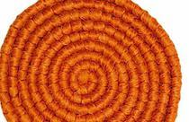 Cabelo crepe de lã para bigodes falsos e Pêlos faciais laranja - Lynx Produções Artistica