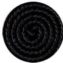 Cabelo crepe de lã para bigodes falsos e Pêlos faciais Preto - Importado