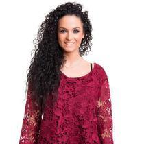 CABELO HUMANO Cacheado Glória 60 cm (50 gramas) - Bella Hair