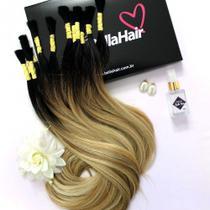 CABELO HUMANO Liso Ombré Gisele 70 cm (Pacote com 70 gramas) - Bella Hair