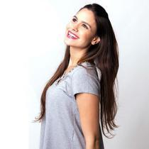 CABELO HUMANO Liso Paola 65 cm (50 gramas) - Bella Hair Cabelos