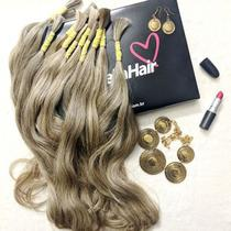 CABELO HUMANO Ondulado Fernanda 55 cm (50 gramas) - Bella Hair