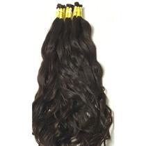 Cabelo Humano Para Mega Hair Virgem Ondulado 50/55cm, 50gr. -