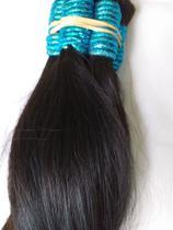 Cabelo indiano liso ondulado 55 cm -