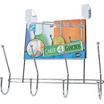 Cabide para Porta com 4 Ganchos 1020C Arthi -