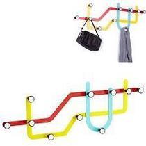Cabideiro de Parede Subway / Metro Cores - Umbra -