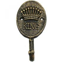 Cabideiro Ferro King Crow 16,3cmx14,3cmx16cm Dourado - Urban