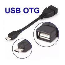 Cabo Adaptador OTG Leitor Pen Drive Celular Tablet V8 para USB - Cabootg