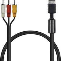 Cabo Audio e Video para Playstation Ps1 Ps2 Ps3 - Mb Tech