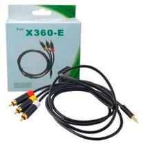 Cabo Av Audio Video Super Slim Xbox 360 1,5m Alta Definição - Feir