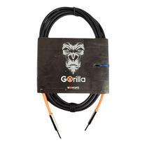 Cabo Baixo Guitarra Gorilla 3 metros Tecniforte garantia NF -