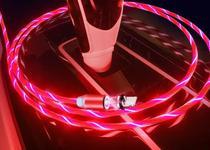 Cabo Carregador Compatível Com iPhone Magnético Luz Led - Espaço Deh Importações
