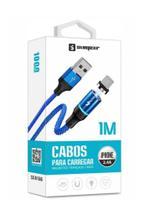 Cabo Carregador Para iPhone Com Conector Lightning Magnetico - Sumexr