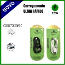 Cabo Carregador Turbo Ultra Rápido Usb V8 Motorola Samsung Lg Asus Portátil - Zem