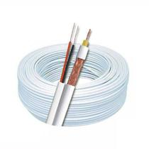Cabo coaxial p/ cftv rolo c/ 500mts multitoc -