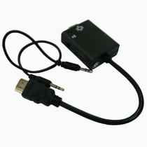 Cabo conversor adaptador de hdmi para vga com saída de áudio - Webstore