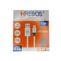 Cabo De Carregamento Turbo HRebos Tipo C 3.1 HS-69 -