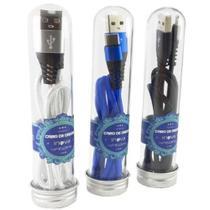 Cabo de Dados Inova 3.1 Micro USB V8 1m tubo CBO-5860 -