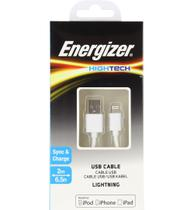 Cabo De Dados Iphone Branco - 2M Energizer -