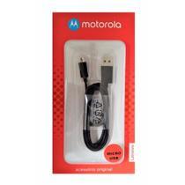 Cabo de Dados Original Motorola Usb/Micro Usb Preto -