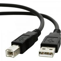 Cabo de Dados USB 2.0 a Macho X USB 2.0 B Macho 1,8M CBUS0007 Preto STORM - Generico