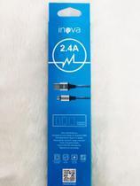Cabo de dados USB/V8 2.4A (1-metro)-Inova -