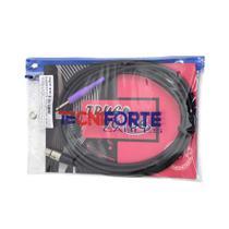 Cabo de Microfone Tecniforte True Voice TV15XPMR REAN 15FT/4,58 Metros XLR/P10 - CB0266 -