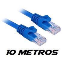 Cabo de rede 10 metros internet cat5e - Pix