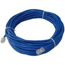 Cabo De Rede 20 Metros Lan Internet Crimpado Rj45 Cat5e Azul - Infinity