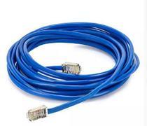 Cabo De Rede Azul 10 Metros Rj45 Crimpado Cftv Internet Lan - Mix