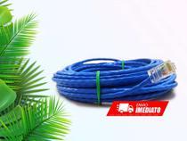 Cabo De Rede Internet Profissional Azul 3 Metros C/ Conector - Shopdng
