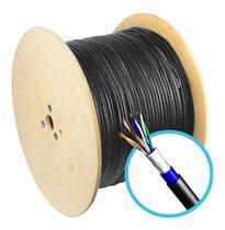 Cabo de rede p/ Internet -- Blindado -- Bobina c/ 300 Metros -- Uso Externo ou Interno - Megatron