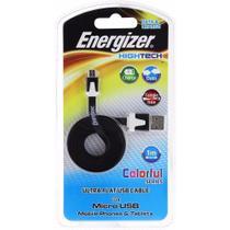 Cabo Extensor Original USB/Micro USB Smartphone/Tablet Preto - Energizer