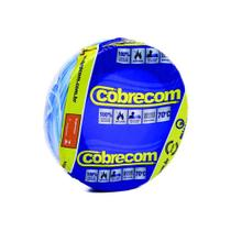 Cabo Flexível 10mm X 750v Azul Rolo C/ 100 Mts - Cobrecom