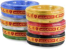 cabo flexivel 2,5mm original megatron com 100 metros -