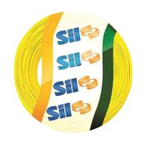 Cabo Flexível Amarelo 100m 2,5mm Sil -