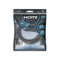 Cabo HDMI 2.0 4K 5 metro Pix -