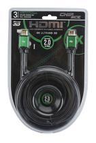 Cabo HDMI 2.0 - 4K Ultra HD - Blindado com Filtro 3 metros -PIX -