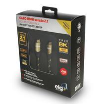 Cabo HDMI 2.1 8K Ultra High Speed Ethernet 2 metros HS8K20 ELG -