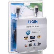 Cabo HDMI Elgin 15 MT PRETO -