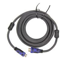 Cabo HDMI Flat Nylon 3D 5 Metros 1.4 Exbom  X0 - Tudoprafoto