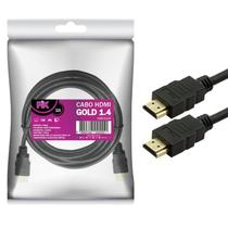 Cabo hdmi gold 1.4 - 1080p ultrahd 15p 10m 018-1110 - Pix