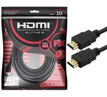 Cabo HDMI PIX 2.0 4K HDR 19 Pinos 10MT -